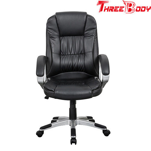 Racing Style Conference Room Chairs , Ergonomic Leather Computer Chairs