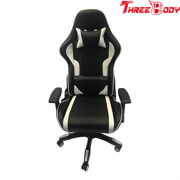 Custom Racing Bucket Seat Office Chair , High Density Foam Swivel Office Chair