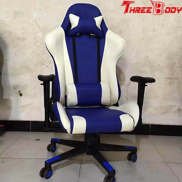 Commercial Racing Seat Gaming Chair , Racing Style Office Chair Light Weight